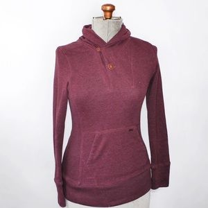 Tops - 🎀3/$30 Kismet Maroon Red Sweater Small